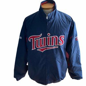 Minnesota Twins Majestic Baseball Dugout Jacket